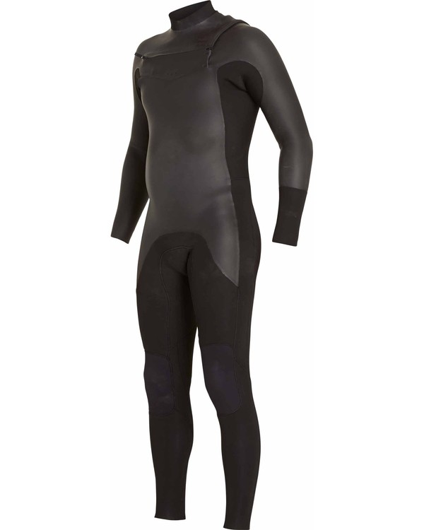 0 302 Revolution Glide Chest Zip Fullsuit Black MWFULRG3 Billabong