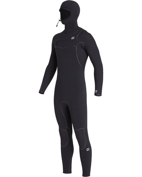 0 5/4 Furnace Ultra Hooded Fullsuit Black MWFUVBH5 Billabong