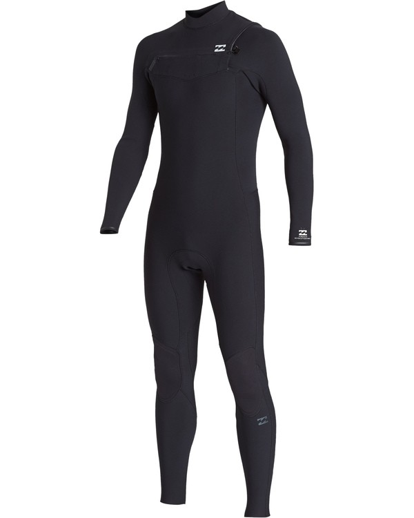0 3/2 Revolution  Pro Chest Zip Full Wetsuit Black MWFUVBP3 Billabong