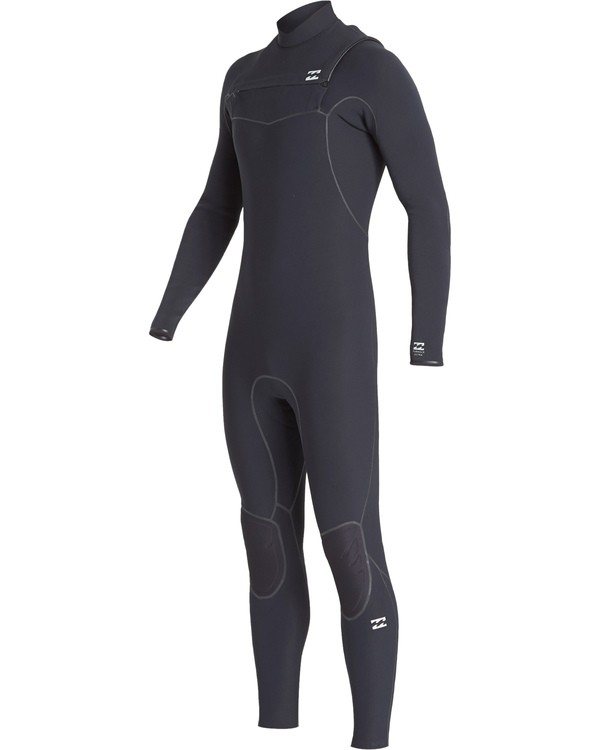 0 4/3 Furnace Ultra Chest Zip Fullsuit Black MWFUVBU4 Billabong