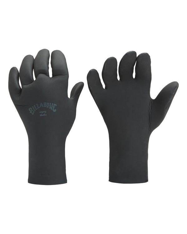 0 2mm Absolute 5 Finger Glove Black MWGL3BA2 Billabong
