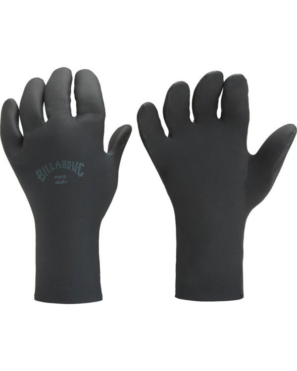 0 5mm Absolute 5 Finger Glove Black MWGL3BA5 Billabong