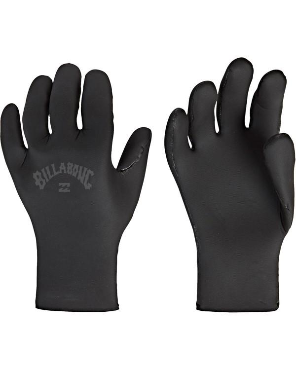 0 2mm Absolute 5 Finger Glove Black MWGLVBA2 Billabong