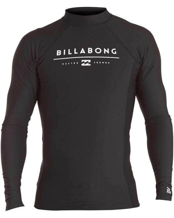 0 All Day Unity Performance Long Sleeve Wetshirt  MWLYJALL Billabong