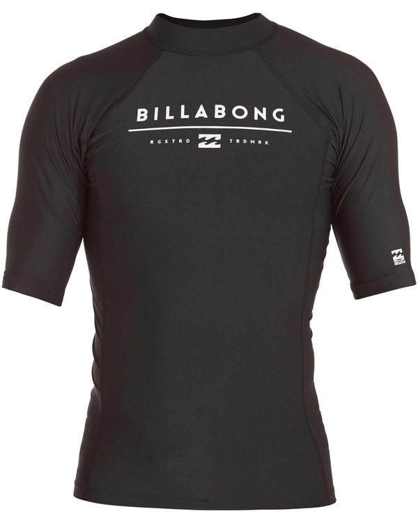 0 All Day Unity Performance Fit Short Sleeve Wetshirt  MWLYJALS Billabong