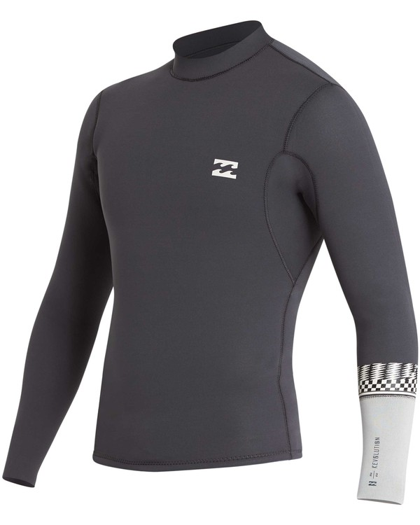 0 202 Revolution DBah Long Sleeve Jacket Grey MWSHQBD2 Billabong