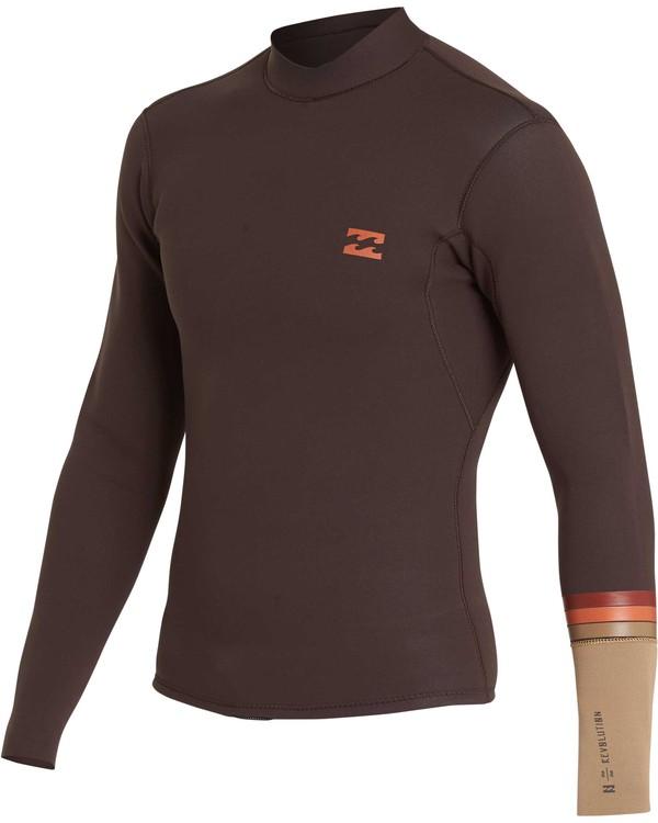 0 2/2 Revolution DBah Long Sleeve Jacket Brown MWSHQBD2 Billabong