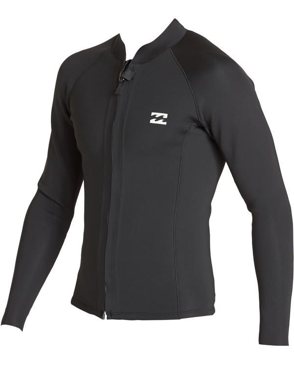 0 2mm Revolution Front Zip Jacket Black MWSHVBF2 Billabong