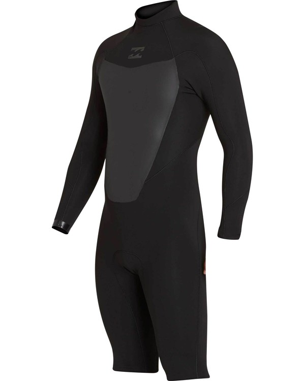 0 2/2 Absolute Comp Back Zip Springsuit  MWSPNBAL Billabong