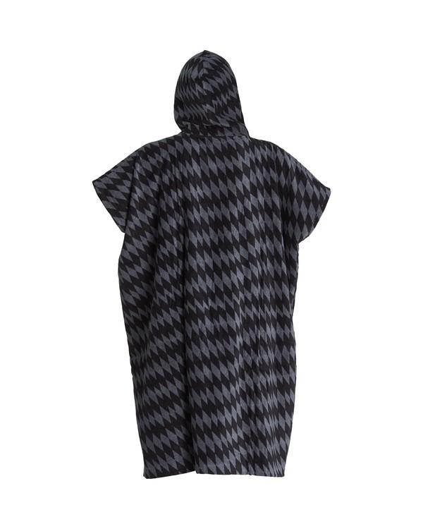 0 Hooded Poncho Grey MWTW1BHT Billabong