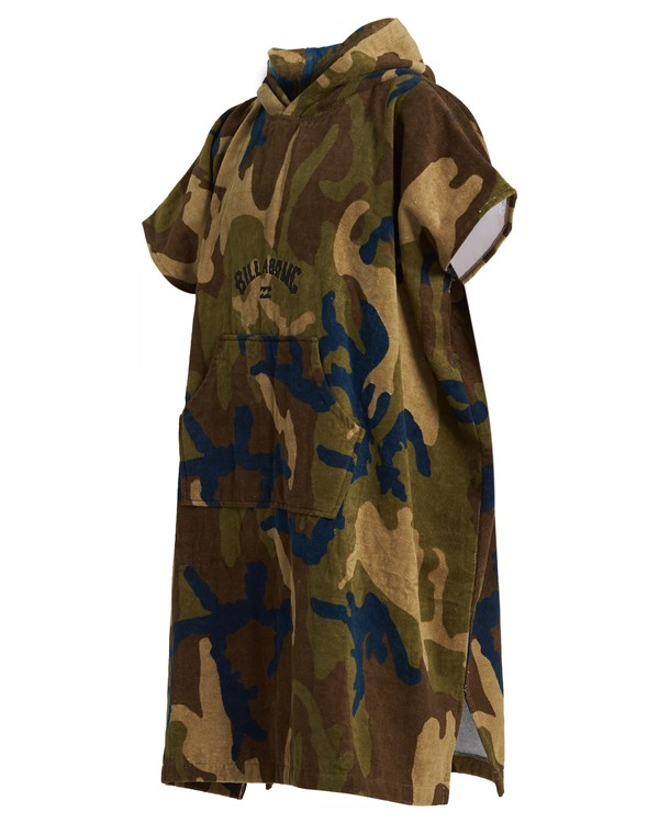 0 Mens Hooded Towel Green MWTW3BHT Billabong