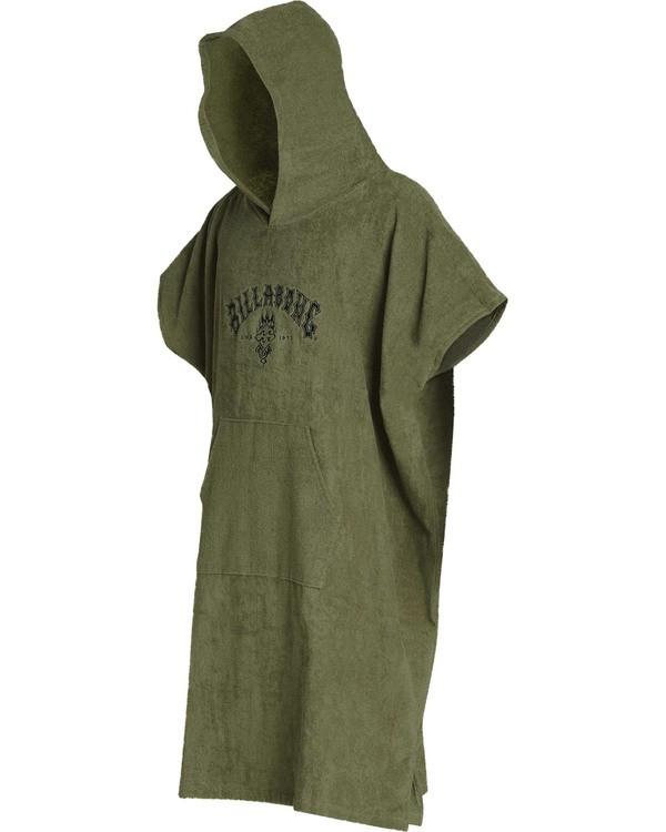 0 Mens Hoodie Towel Green MWTWTBHT Billabong
