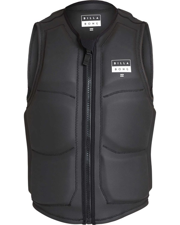 0 Anarchy Wake Vest Black MWVETBAN Billabong