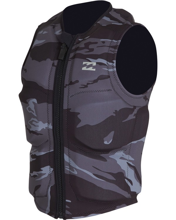 0 Revolution Wake Vest Black MWVEVBIN Billabong