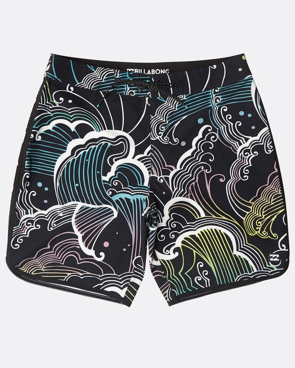 "0 73 Lineup Pro 19"" Boardshorts Black N1BS09BIP9 Billabong"