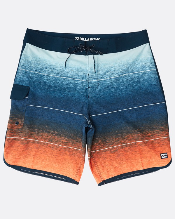 "0 73 Stripe Pro 19"" Boardshorts Naranja N1BS10BIP9 Billabong"