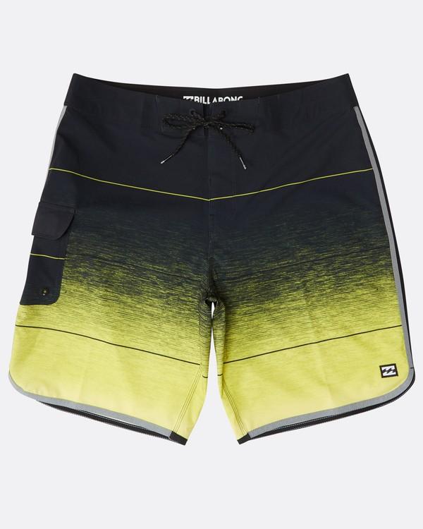 "0 73 Stripe Pro 19"" Boardshorts Yellow N1BS10BIP9 Billabong"