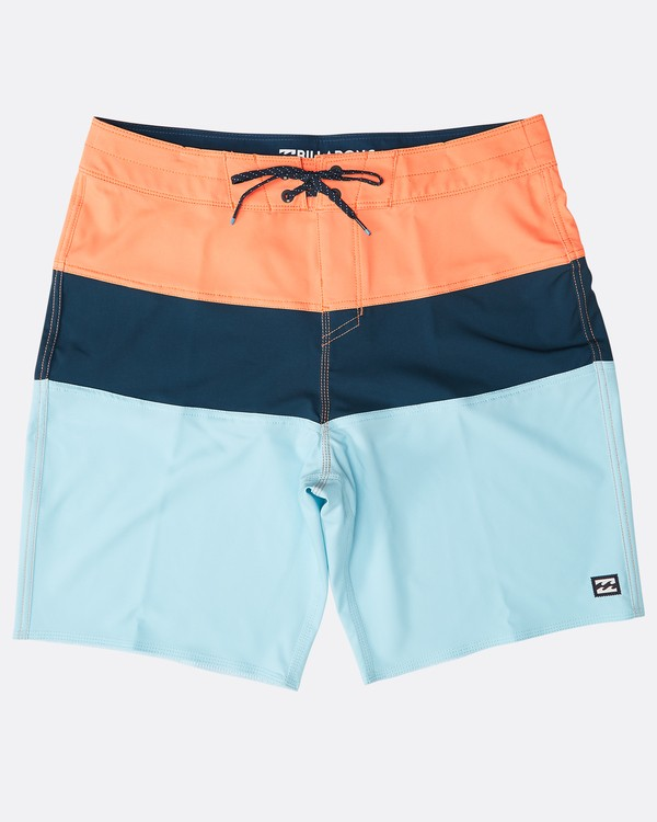 "0 Tribong Pro Solid 19"" Boardshorts Orange N1BS47BIP9 Billabong"