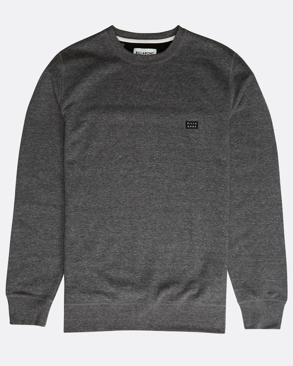 0 All Day Crew Sweatshirt Schwarz N1FL01BIP9 Billabong