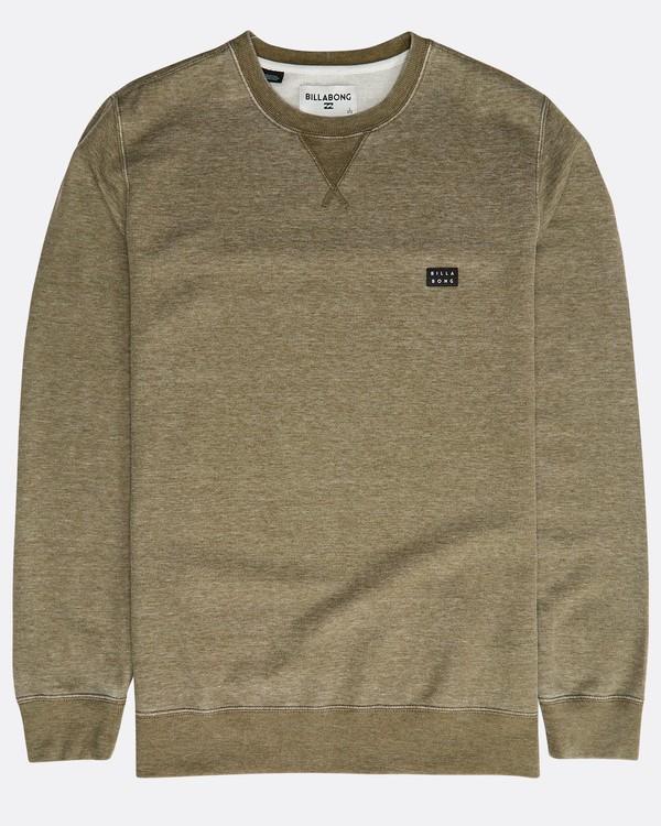 0 All Day Washed Crew Sweatshirt  N1FL02BIP9 Billabong