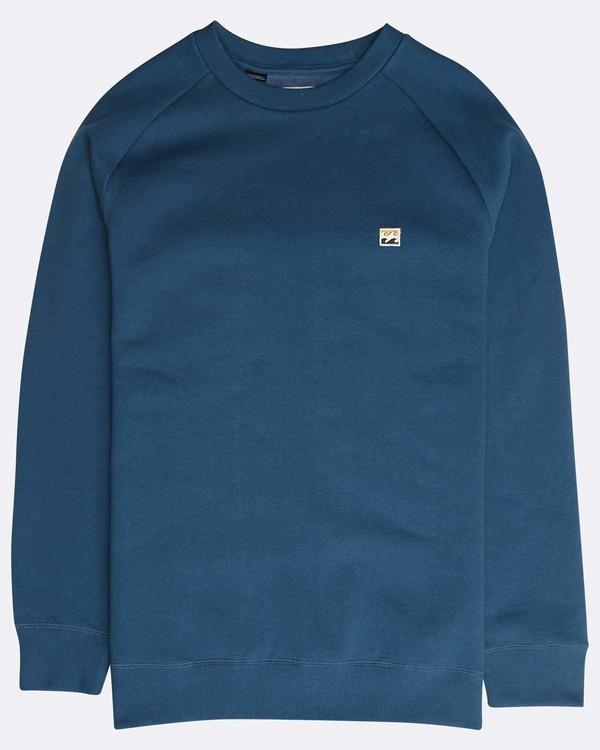 0 Original Crew Sweatshirt Blau N1FL04BIP9 Billabong