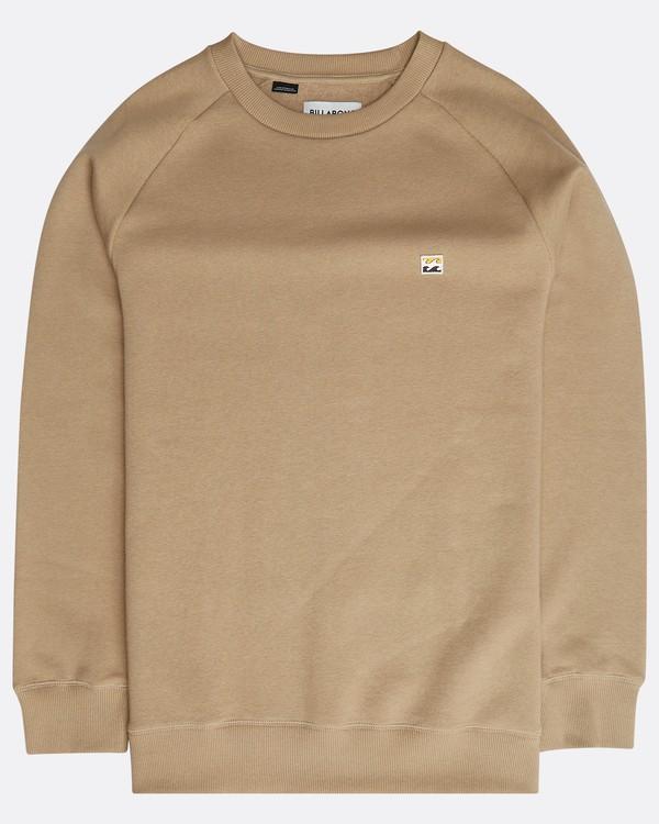 0 Original Crew Sweatshirt Grau N1FL04BIP9 Billabong