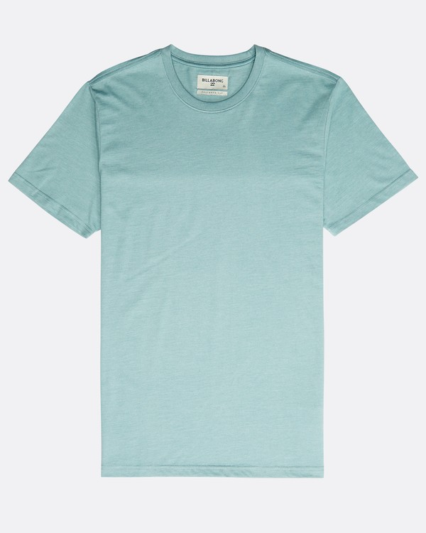 0 All Day Crew T-Shirt Verde N1JE04BIP9 Billabong