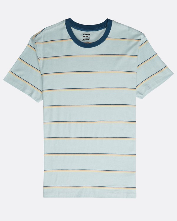 0 Die Cut Stripe Ss Cr Blau N1JE09BIP9 Billabong