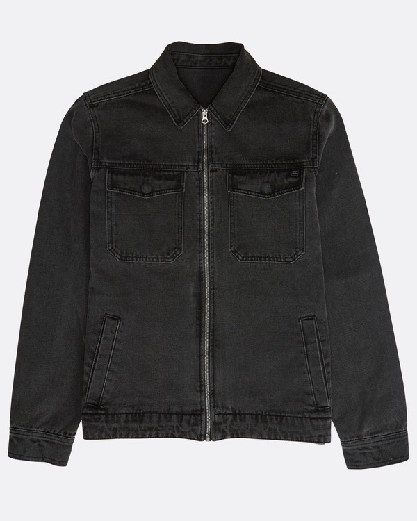 0 Barlow Lite Denim Jacket Schwarz N1JK06BIP9 Billabong