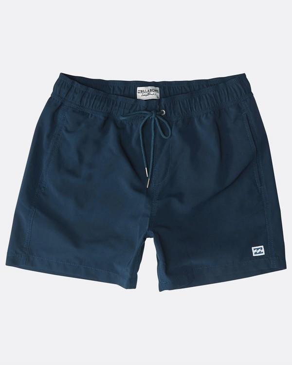 "0 All Day Laybacks 16"" Boardshorts Azul N1LB01BIP9 Billabong"