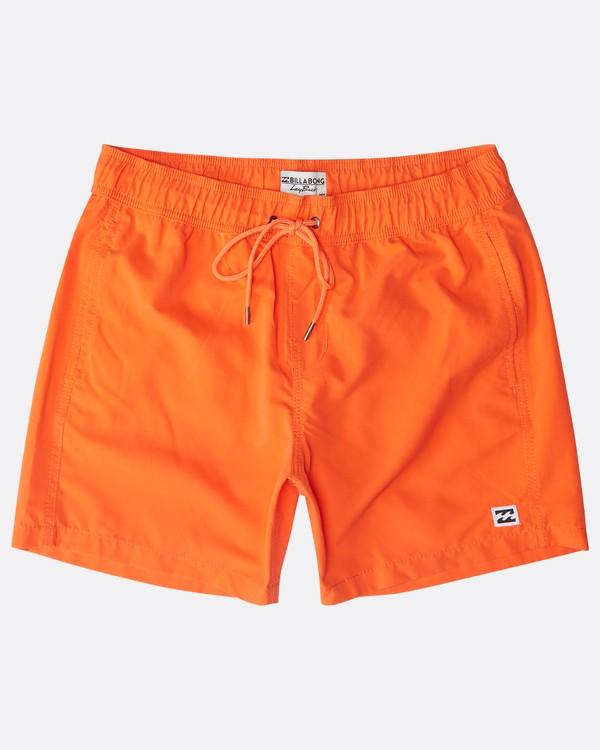 """0 All Day Laybacks 16"""" Boardshorts Naranja N1LB01BIP9 Billabong"""