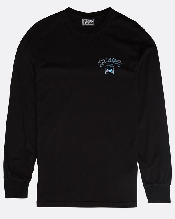0 Archfire Long Sleeve T-Shirt Schwarz N1LS03BIP9 Billabong