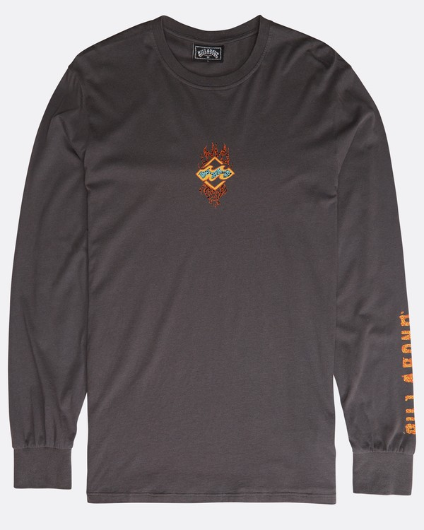 0 Archfire Long Sleeve T-Shirt Grau N1LS03BIP9 Billabong