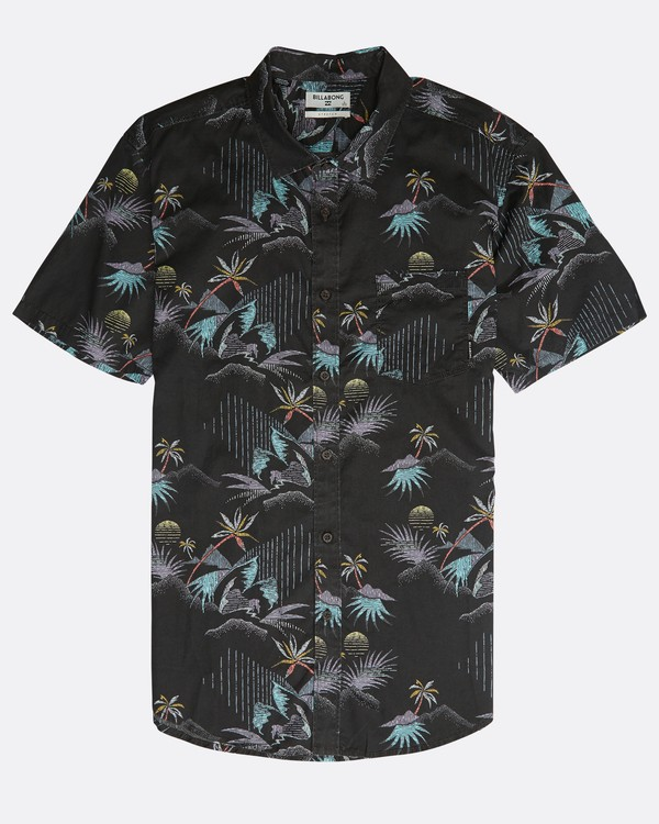 0 Sundays Floral Shirt Negro N1SH02BIP9 Billabong