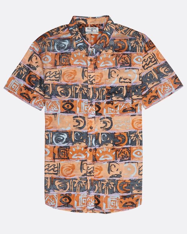 0 Sundays Floral Shirt Naranja N1SH02BIP9 Billabong