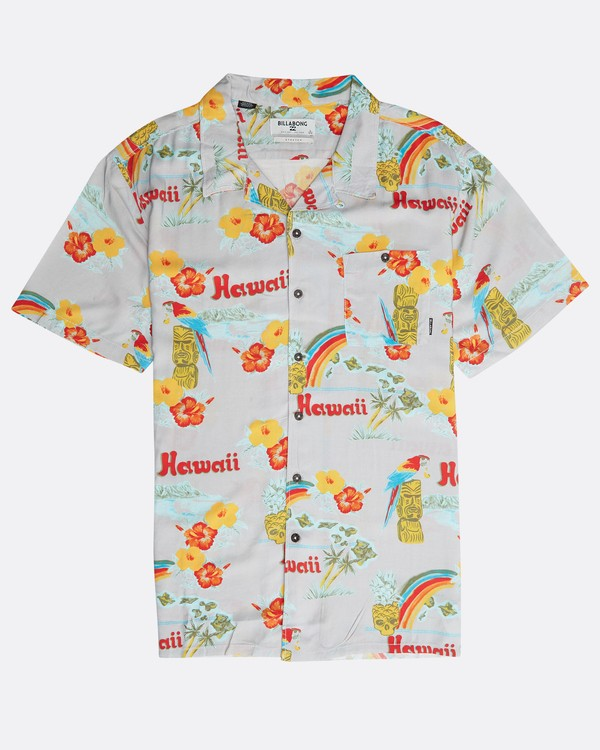 0 Vacay Print Shirt Beige N1SH03BIP9 Billabong