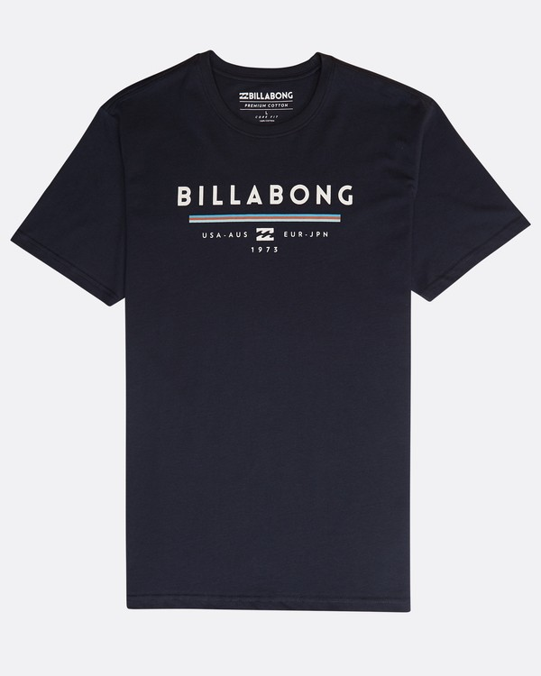 0 Unity T-Shirt Azul N1SS01BIP9 Billabong
