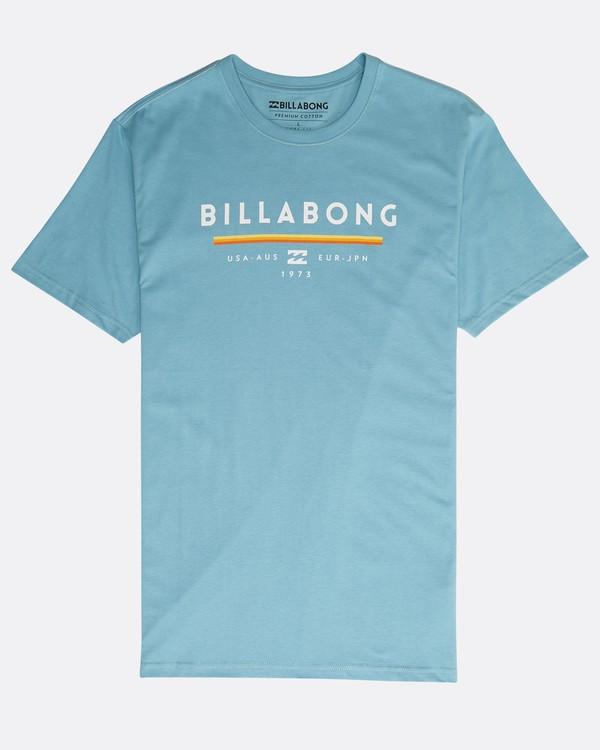 0 Unity T-Shirt Blau N1SS01BIP9 Billabong