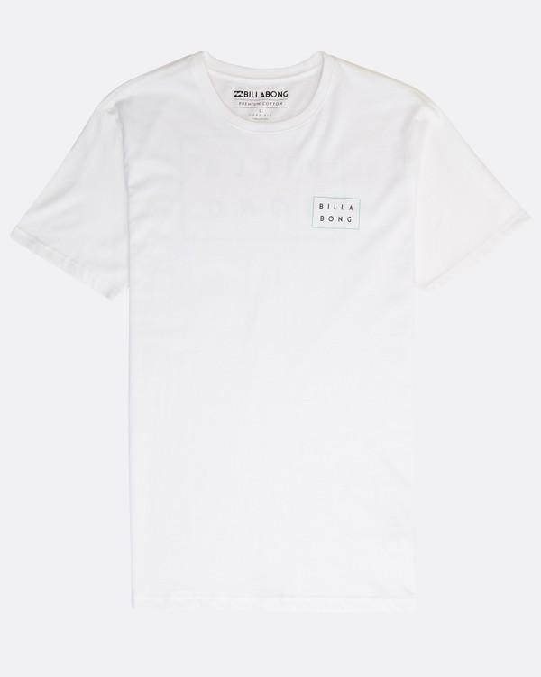 0 Die Cut T-Shirt Blanco N1SS02BIP9 Billabong