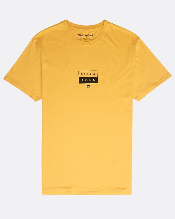 0 Decal T-Shirt Gelb N1SS05BIP9 Billabong