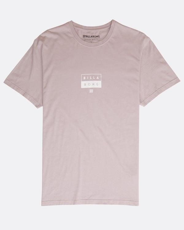 0 Decal T-Shirt Violeta N1SS05BIP9 Billabong