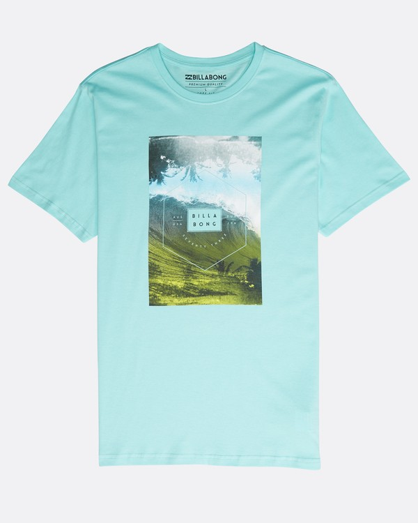 0 Section T-Shirt Verde N1SS07BIP9 Billabong