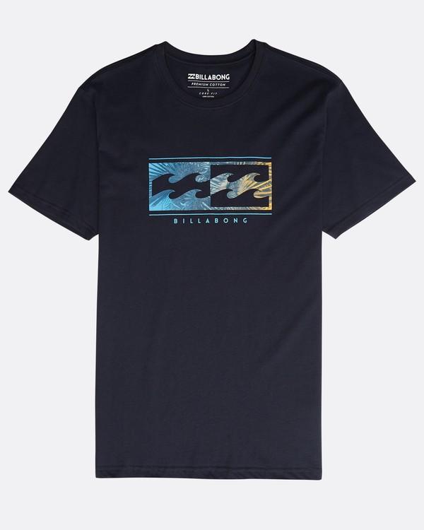 0 Inversed T-Shirt Bleu N1SS08BIP9 Billabong