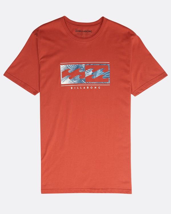 0 Inversed T-Shirt Red N1SS08BIP9 Billabong