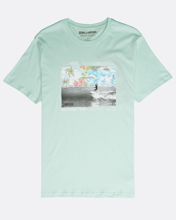 0 High Line T-Shirt Verde N1SS10BIP9 Billabong
