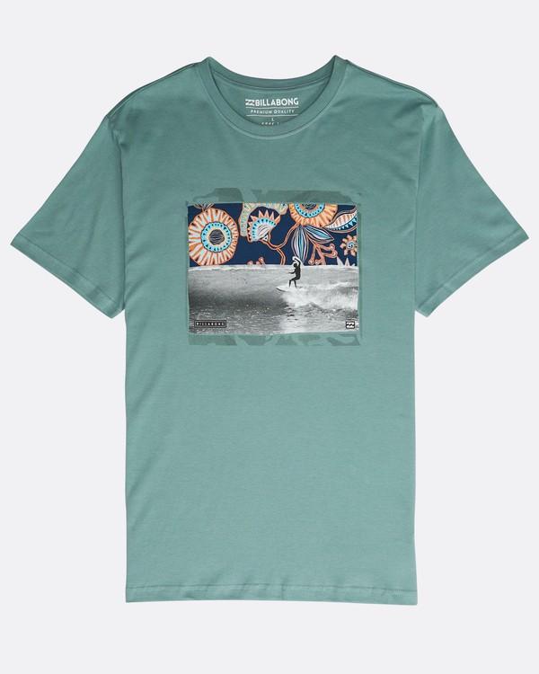 0 High Line T-Shirt Grün N1SS10BIP9 Billabong