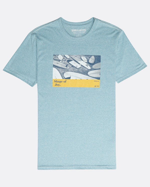 0 Dynamics T-Shirt Blau N1SS11BIP9 Billabong