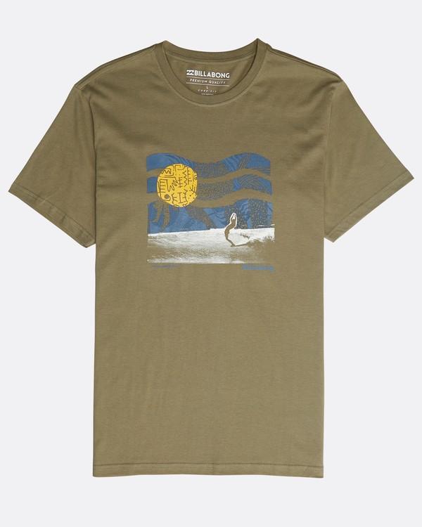 0 Outline T-Shirt Gemustert N1SS12BIP9 Billabong
