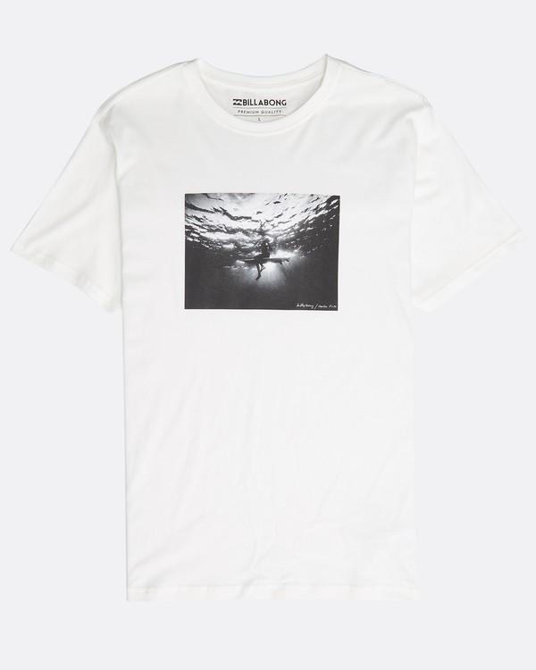 0 Focal T-Shirt Beige N1SS13BIP9 Billabong
