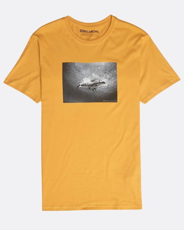 0 Focal T-Shirt Yellow N1SS13BIP9 Billabong
